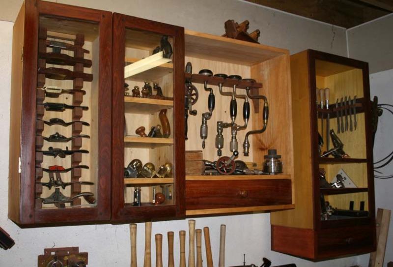 Woodshop Cabinets Storage