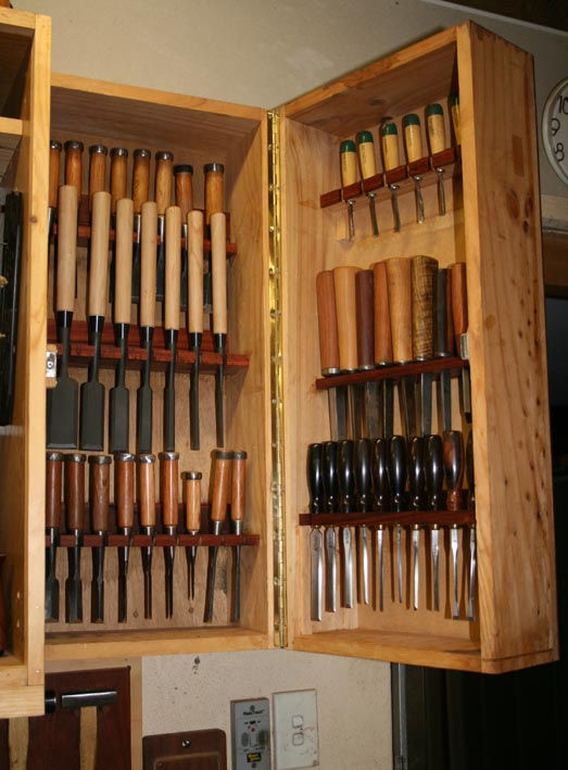 Wood Chisel Storage